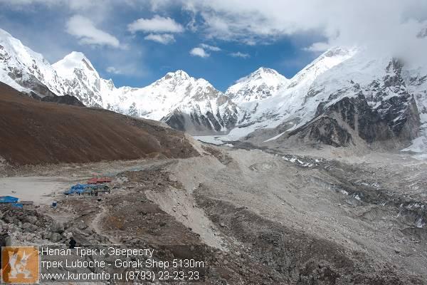Горак Шеп на высоте 5100 метров